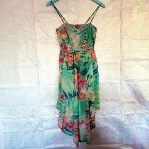 Mimi Chica High low Sundress NWT